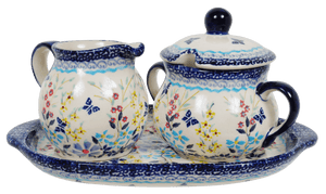Cream and Sugar Set (Butterfly Bounty)