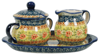Cream and Sugar Set (Bountiful Blossoms) | K091S-WKLZ