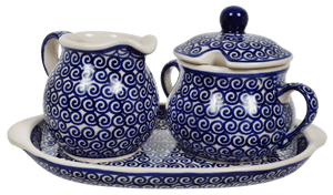 Cream and Sugar Set (Riptide)