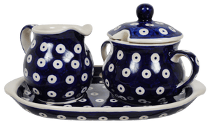 Cream and Sugar Set (Dot to Dot)