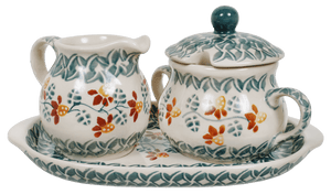 Cream and Sugar Set (Indian Summer)