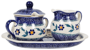 Cream and Sugar Set (Morning Glory)