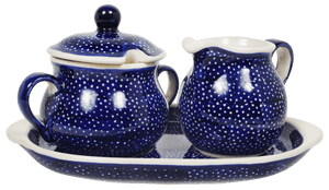 Cream and Sugar Set (Night Sky)