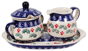 Cream and Sugar Set (Holiday Cheer)
