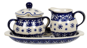 Cream and Sugar Set (Snow Drift)
