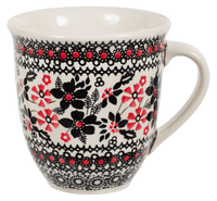 The Large Mars Mug (Duet in Black & Red)