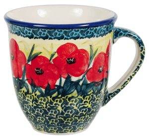 The Large Mars Mug (Poppies in Bloom)