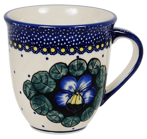 The Large Mars Mug (Pansies)