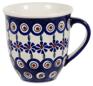 The Large Mars Mug (Floral Peacock)