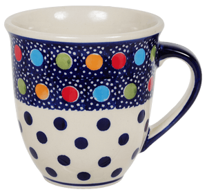 The Large Mars Mug (Neon Dots)