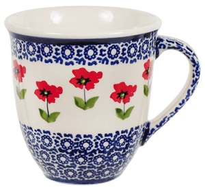 The Large Mars Mug (Poppy Garden)