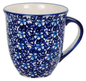 The Large Mars Mug (Blue on Blue)