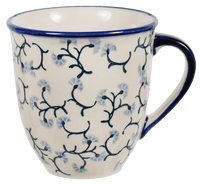 The Large Mars Mug (Dusty Blue Blossoms)