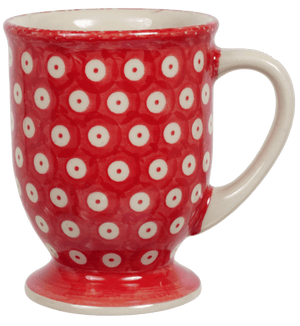 Big Cappuccino Cup (Dot to Dot - Red)