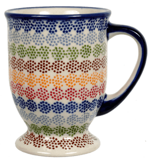 Big Cappuccino Cup (Speckled Rainbow)