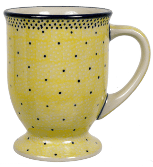 Big Cappuccino Cup (Sunshine Blue Speckle)