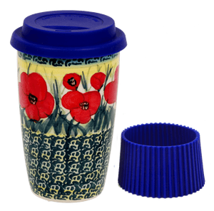 Travel Mug (Poppies in Bloom)