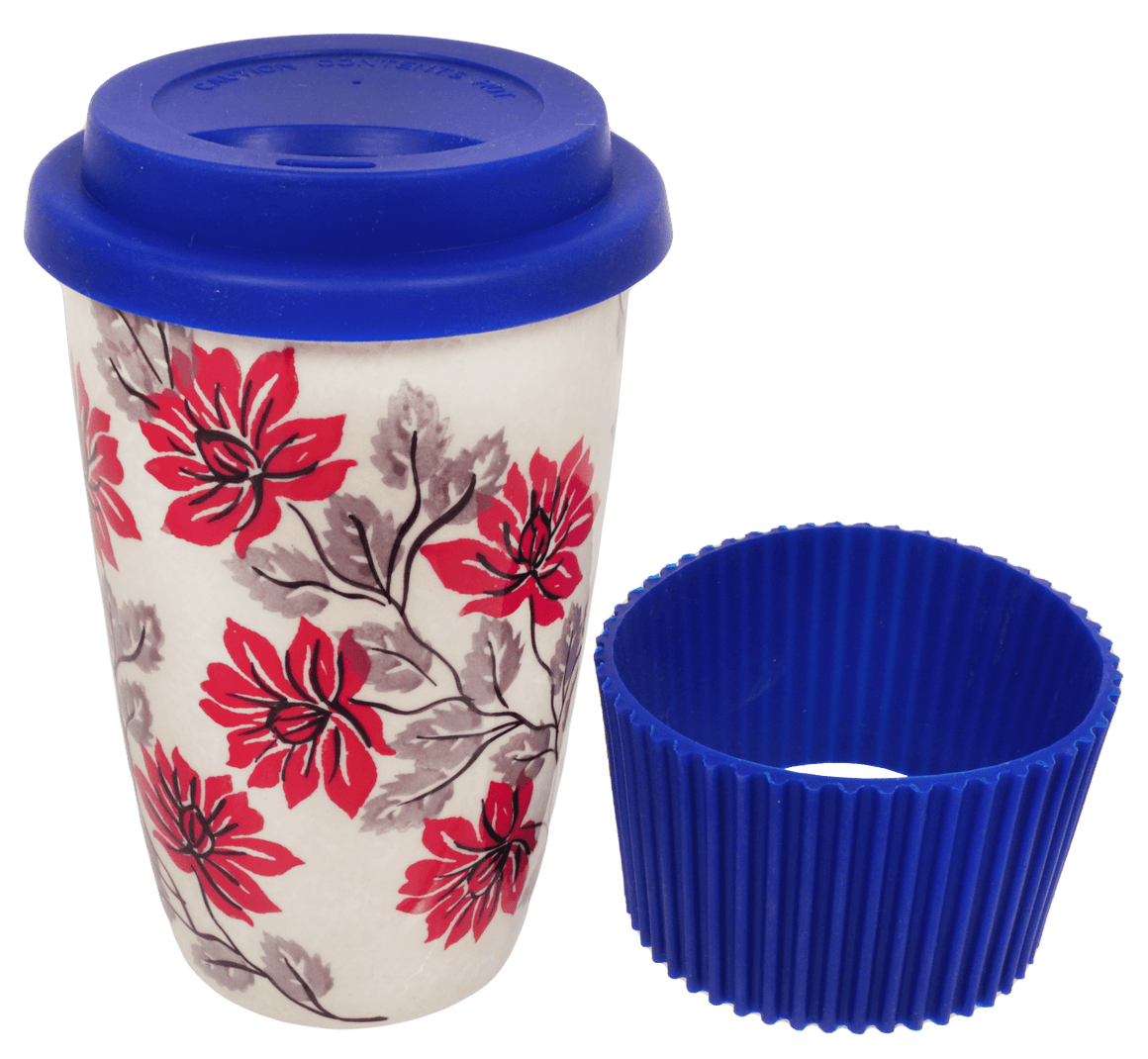 Travel Mug (Evening Blossoms)