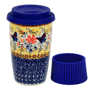 Travel Mug (Butterfly Bliss)