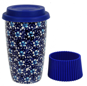 Travel Mug (Blue on Blue)