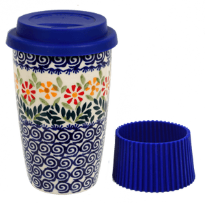 Travel Mug (Flower Power)