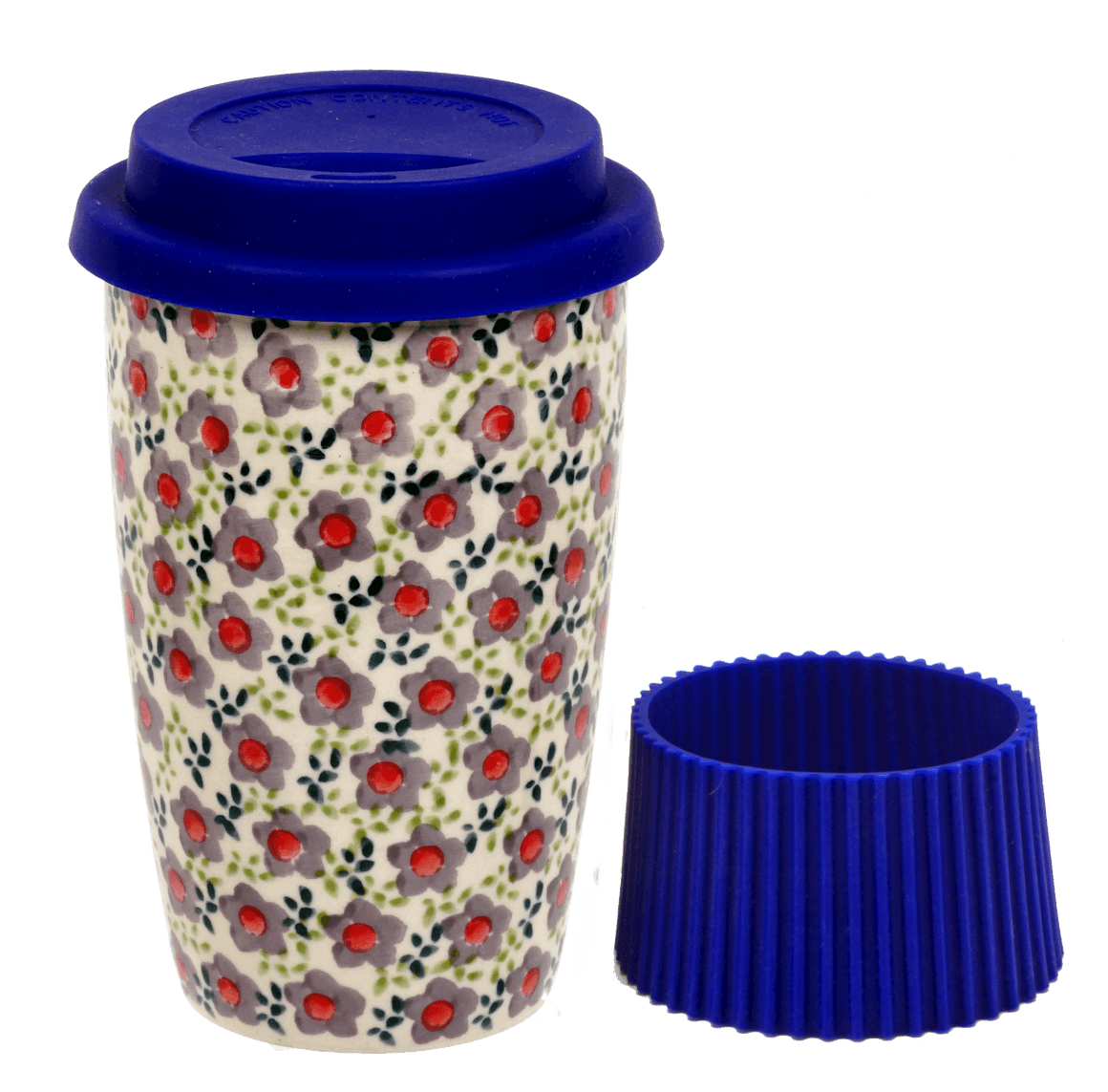 Travel Mug (Floral Revival Twilight)