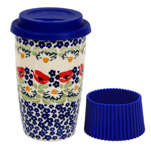 Travel Mug (Poppy Parade)