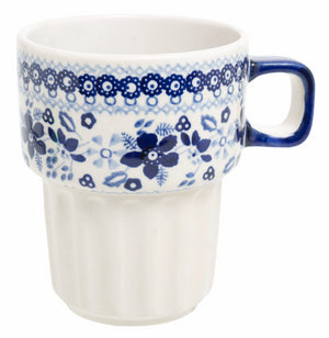 Bar Mug (Duet in Blue)