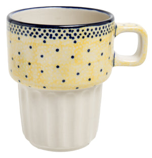 Bar Mug (Sunshine Blue Speckle)