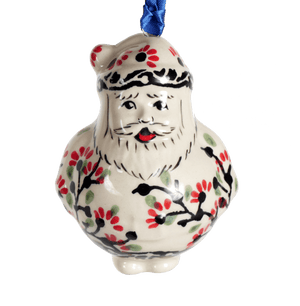 Santa Ornament (Cherry Blossom)
