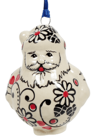 Santa Ornament (Night Garden)