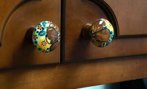 Drawer Pulls (Midnight Flowers)