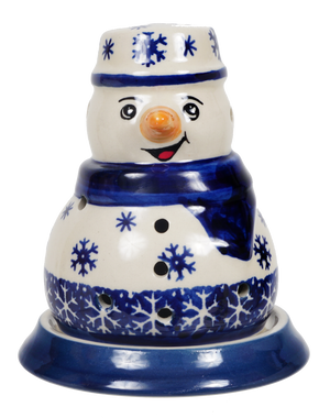 Snowman Luminary (Snow Drift)