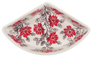 Wedge-Shaped Bowl (Evening Blossoms)
