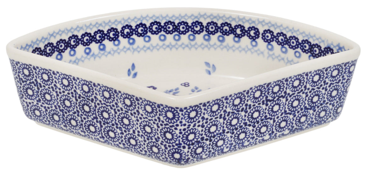 Wedge-Shaped Bowl (Duet in Blue)
