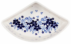 Wedge-Shaped Bowl (Duet in Blue & White)