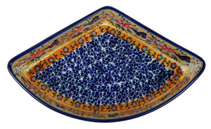 Wedge-Shaped Bowl (Butterfly Bliss)