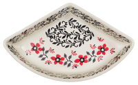 Wedge-Shaped Bowl (Scarlet Garden)