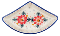 Wedge-Shaped Bowl (Zinnia Zest)