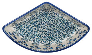 Wedge-Shaped Bowl (Blossoms on the Green)