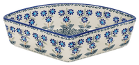 Wedge-Shaped Bowl (Blossoms on the Green) | M048U-J126