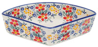 Wedge-Shaped Bowl (Fresh Flowers)