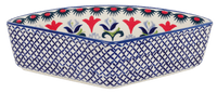 Wedge-Shaped Bowl (Scandinavian Scarlet)