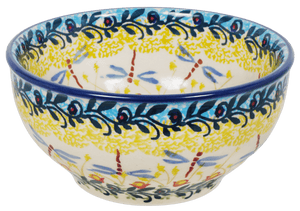 "5.25"" Tapered Bowl (Dragonfly Delight)"