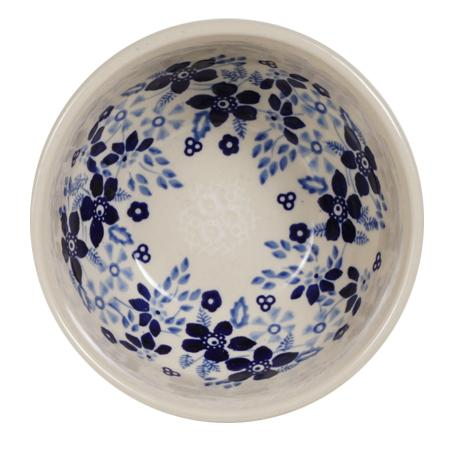 "5.25"" Tapered Bowl (Duet Blue Wreath)"