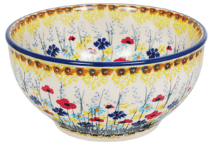 "5.25"" Tapered Bowl (Sunlit Wildflowers)"