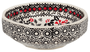 Multi-Angular, Multi-Use Bowl (Duet in Black & Red)