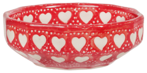 Multi-Angular, Multi-Use Bowl (Torrent of Hearts Red)