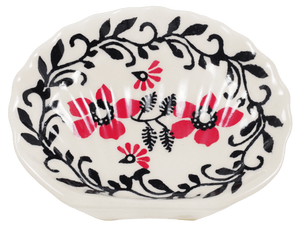 Small Soap Dish (Scarlet Garden)