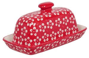 American Butter Dish (Modern Red)